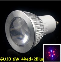Wholesale Led Plant Light W E27 GU10 Led Hydroponic Plant Flowers Vegatables Green Led Grow Light Plant Growing Lamp Can Customize nm