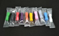 Wholesale Independent packing flexible silicone testing drip tip for electronic cigarette atomizer drip tip tester mouthpiece cap