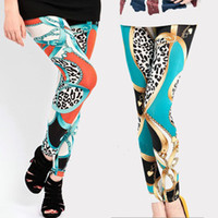 Wholesale 2015 Spring Summer Casual pants Fashion Lady s Candy Colors Leopard Leggings Tight Pencil Skinny Pants Trousers feet