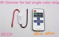Wholesale RF Remote Controller H3 R DC V Keys Mini Dimmer for Led Single Color Strip A3