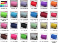 Wholesale Fabric High quality inch yards tulle hot sale rolls