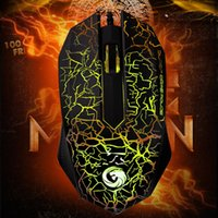 Wholesale Herdsman LED Optical Gaming Mouse D USB Wired Gaming Game Mouse For Computer PC Laptop Game