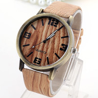 best cans - The Best Wood Watches For Men And Women Can Wear Simple Fashion Design Style Leather Straps Waterproof Watch