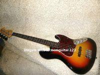 bass guitar fingerboard - Sunburst Strings Jazz Electric Bass Rosewood Fingerboard New Arrival Guitars