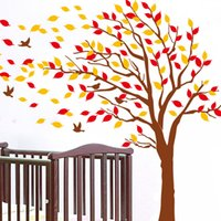 big plastic trees - DIY Room Decal Stickers Adesivo De Parede Big Tree Double sided Wall Sticke Art Decals Mural Wallpaper