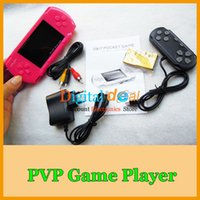 Wholesale With Free Game Card and Joystick PVP Crash Handheld Game Player PVP Station BIT Video Games Console