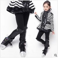 Cheap Leggings & Tights children jeans Best Girl Spring / Autumn leather tights