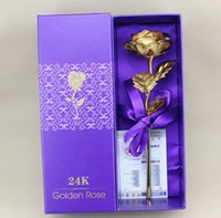 24k gold rose - 24k Gold Rose Foil Flowers Inches Handcrafted and Last s forever with Gift Box Best Gift for Valentine s day Mother s day Birthday