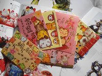 Wholesale Wholesales Kawaii Lucky Cat Red Packets Chinese New Year Red Envelopes Money packet Luxury Hong bao