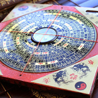 Wholesale Traditional Ancient Chinese Feng Shui Compass Luo Pan Bagua Lucky Direction A0027