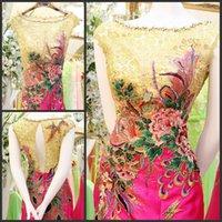 formal dresses - 2015 DHL freeship Ultimate luxury crystal formal dress formal dress toast the bride married formal dress evening dress xj16160