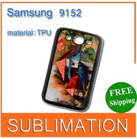 Cheap 20pcs TPU Sublimation cell phone case for Samsung Galaxy Mega 9152 5.8inch