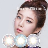 Wholesale 1pair new Velvet colors color contact lenses DHL shipping years experience Recognized comsmetic contact lenses
