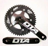 Cheap OTA AL7075 48T single speed fixed gear fixie bike crankset cycling Road track bicycle crank set chain wheel