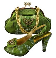italian shoes - The most popular High Quality African shoes with Italian Shoes And Bags Set For Wedding GF25 Size38