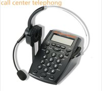 Wholesale Call Center Dialpad Headset Telephone with Tone Dial Key Pad