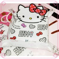 plastic folding table - HelloKitty Folding Plastic Plate Table Decoration Key Collect Coin Tray Table Placement Kawaii Home Storage Necessity