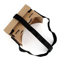 Wholesale DIY Head Mount strap For Google Cardboard vr Virtual Reality D Glasses Good Quality Brand New