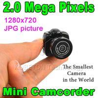 Wholesale Hot Sale Cmos Super Mini Video Camera Ultra Small Smallest Pocket P DV DVR Camcorder Recorder Web Cam P JPG Photo