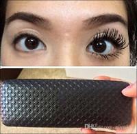 natural mascara - 3D fiber MASCARA waterproof double mascara D FIBER LASHES Set Makeup volumizing lash eyelash sets