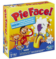 pies - Korea Running Man Pie Face Game Pie Face Cream On Her Face Hit The Send Machine Paternity Toy Rocket Catapult Game Consoles