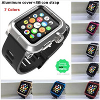 aluminum watch band - Epik for Apple watch IWatch mm style strap Watch band watchbands match colors Aluminum case cover