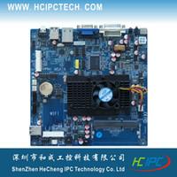 amd dual cpu motherboards - M432 ITX HCMF2E21C AMD T56N Dual core CPU Embedded Motherboard COM SATA USB GPIO Mini PCIE Giga LAN V DC DDR3 VGA DVI LVDS