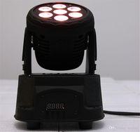 Wholesale CREE x12W RGBW quad mini led wash moving head light LED stage lights channels