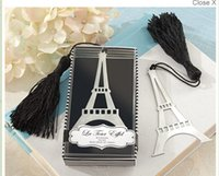 Wholesale 2016 Hot Selling wedding favors bookmark wedding gifts for guests quot La Tour Eiffel quot New Arrival