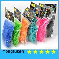 Cheap Jelly, Glow Silicone wrist Best DIY Children's Rainbow Loom