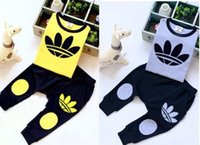 jogging suits - Kids Baby sport Suit Boys Long Sleeve T Shirt Pants girls jogging casual Clothes Children clothing set kids hoodies tracksuit
