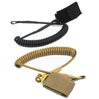 backpack rifle sling - tactical Safety System Outdoor Belt CS Backpack Accessories Retractable Cord Safety Rope Gun Rifle Pistol Sling