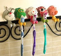 Wholesale Lovely Household Animal Type Toothbrush Holder Mini Toothbrush Holder Bathroom Product