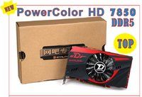 Wholesale hd7850 g video graphics card DDR5 bit computer graphics card DirectX SP Video Graphics Card surpass gtx
