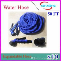 expandable hose - High Quality FT NEW Retractable Garden Hose Water Pipe Magic Hose Expandable and Flexible Hose YX SG