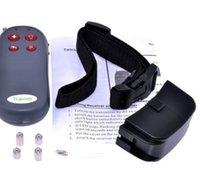 Wholesale 20pcs in Vibration And Static Impulse Electronic Remote Dog Training Collar Free DHL Fedex