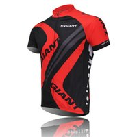 Wholesale Red Giant Cycling Jerseys Cycling clothing bicycle jersey Team bike bicycle Cycling jersey short sleeve Cycling wear Quick Dry