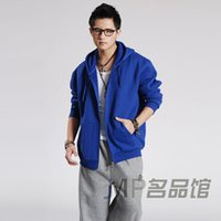 Wholesale Loose fat hip hop king tide men s spring trade of the original single sport codes hooded cardigan sweater jacket