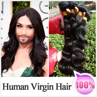Wholesale 2015 Super Star Hair Style Brazilian Indian Peruvian Malaysian Virgin Hair G Natural Human Hair Weave Bundles Body Wave a Hair Extension