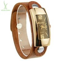 Wholesale Fashion Leather Band Watch For Women and Men Wristwatch Style for Choice PI0547
