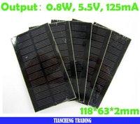 Wholesale Laminate solar cells for DIY test Watt V Solar energy panels