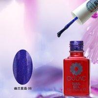 amethyst nail polish - Orchid Amethyst newest and colorful pofessional uv nail gel polish