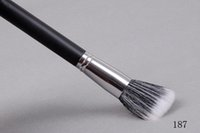 Artificial Leather bag brush - new High quality makeup brush No blush brush with Plastic Bag