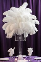 ostrich feathers - CHINAZP Factory colors Hot Sellling cm inch DIY Ostrich Feathers Plume Centerpiece for Wedding Party Decorations