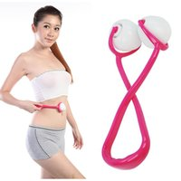 abdominal exercises ball - High Quality Health Beauty Full Body Roller Massager Gym Abdominal Point Ball Trigger Slimming Massage Exercise C89