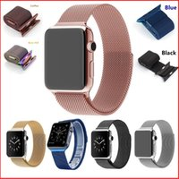 adjustable watch strap - Milanese Loop for Apple Watch bands strap watchband magnetic strap mm mm Woven stainless steel mesh with adjustable magnetic closure