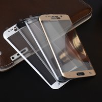 bend steel plate - new arrival for Samsung s6edge d curved steel bending film D film covering the screen in full screen full transparency song plating mask