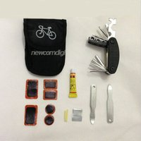 Wholesale Cycling Bike Bicycle Tyre Repair Tool Kit With Bag Multifunction Maintenance Set