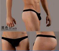Cheap Mens Thongs And G Strings Sexy Men Underwear Men's Briefs Thong Men Brand Sexy Men String Thong low waist free shipping