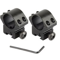 Wholesale 2Pcs Scope Mounts Rifle Tactical Medium quot Scope Rings For Weaver Picatinny Rail mm VE205